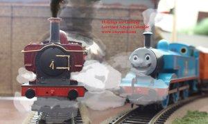 Locoyard Christmas Pannier 2783 - The Holidays are Coming - Movember Thomas the Tank Engine