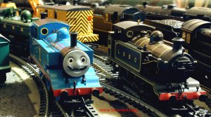 Locoyard - E2 class tank Engine Movember special - Hornby 1 Thomas & LBSCR 100
