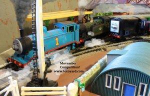 Locoyard Movember competition 2013 - Thomas the Tank Engine, Devious Diesel & 56xx