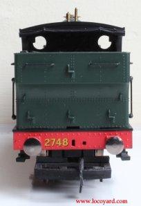 Locoyard Review - Hornby Railroad 2721 Open Cab Dean Pannier Tank - 2748 (rear)