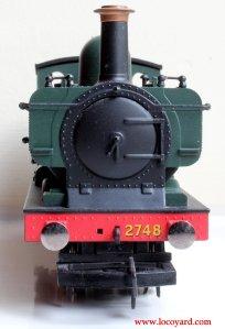 Locoyard Review - Hornby Railroad 2721 Open Cab Dean Pannier Tank - 2748 (smokebox)