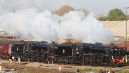 2013 - Mainline Steam - The Cathedrals Express - LMS Class 5MT 4-6-0 no 44871 and 45407 (Eastleigh)