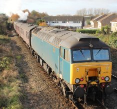 2013 - Mainline Steam - The Cathedrals Express - class 57 57313