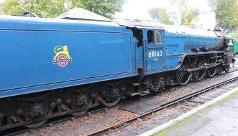 2013 Watercress Line Autumn Steam Spectacular - Alresford - A1 class 60163 Tornado