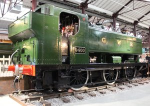 2013 - STEAM Museum of the GWR - Swindon - GWR 94xx pannier tank Class - 9400