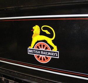 2013 - STEAM Museum of the GWR - Swindon - BR 78xx Class 7821 Ditcheat Manor BR early emblem