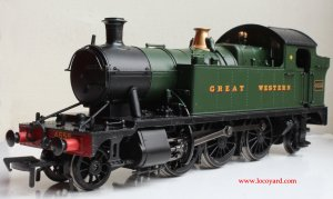 Locoyard - Bachmann GWR 45xx model review - 4555 32-127B