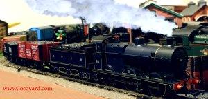 Locoyard - Bachmann SDJR Fowler 4F 0-6-0 58 - freight train