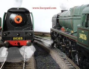Locoyard - Hornby unrebuilt & rebuilt Bulleid West Country class 21C123 Blackmoor Vale & 34026 Yes Tor