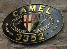 2013 - STEAM Museum of the GWR - Swindon 3352 Camel