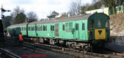 2012 Watercress Line Ropley - Class 205 DEMU Hampshire Unit Thumper – 1125