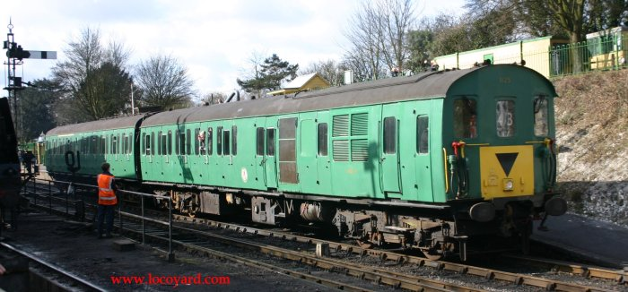 2012 Watercress Line Ropley - Class 205 DEMU Hampshire Unit Thumper – 1125