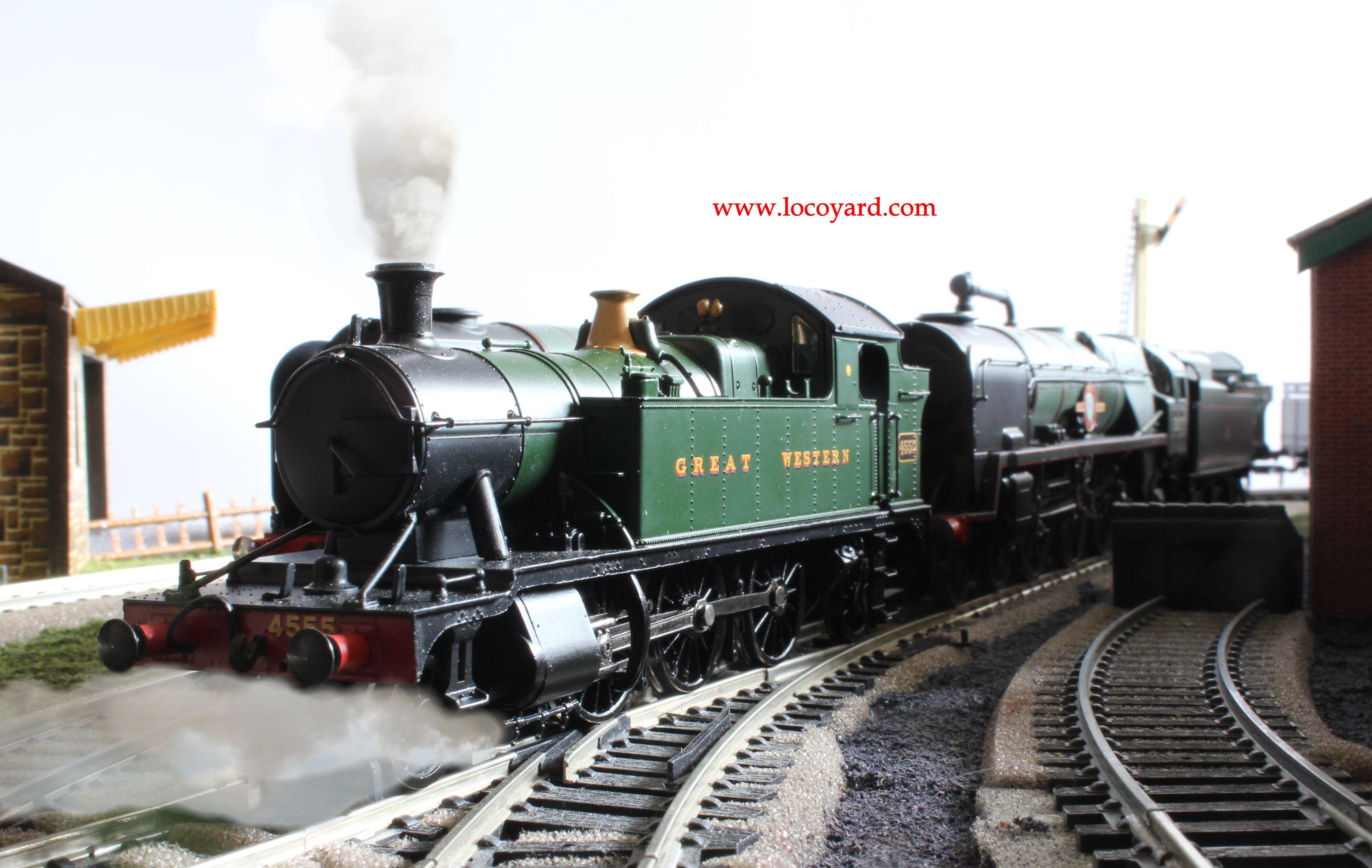 Locoyard - Bachmann GWR 45xx - 4555 32-127B on-shed