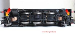 Locoyard - Bachmann GWR 45xx model DCC Fitting Guide - 4555 32-127B - Step 1