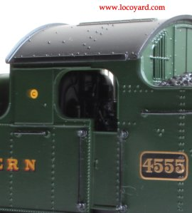Locoyard - Bachmann GWR 45xx model review - 4555 32-127B (cab)