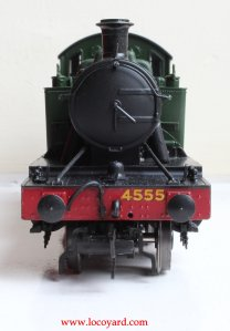 Locoyard - Bachmann GWR 45xx model review - 4555 32-127B (front smokebox)