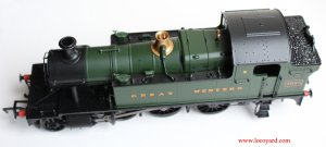 Locoyard - Bachmann GWR 45xx model review - 4555 32-127B (overhead view)