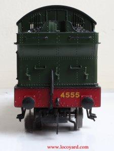 Locoyard - Bachmann GWR 45xx model review - 4555 32-127B (rear bunker view)