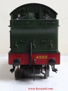 Locoyard - Bachmann GWR 45xx model review - 4555 32-127B (rear bunker view)