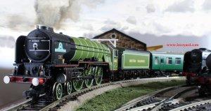 Locoyard - Bachmann new build steam A1 class - 60163 apple green