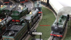 Locoyard - GWR scene - Bachmann pannier 8750 class 4612, 4936 Kinlet Hall, 3440 City of Truro, 4555, Hornby open cab 2748