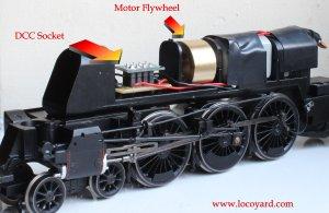 Locoyard DCC Fitting Guide - Hornby BR Standard 8P class - 71000 Duke of Gloucester (1)