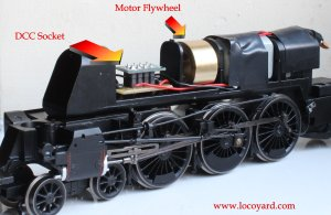 Locoyard DCC Fitting Guide - Hornby BR Standard 8P class - 71000 Duke of Gloucester (1)