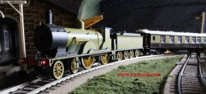 Locoyard - Hornby LSWR T9 class (3)