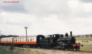 Locoyard - Norwegian class 21c - 376 (1995 - Kent & East Sussex Railway Tenterden Bank)