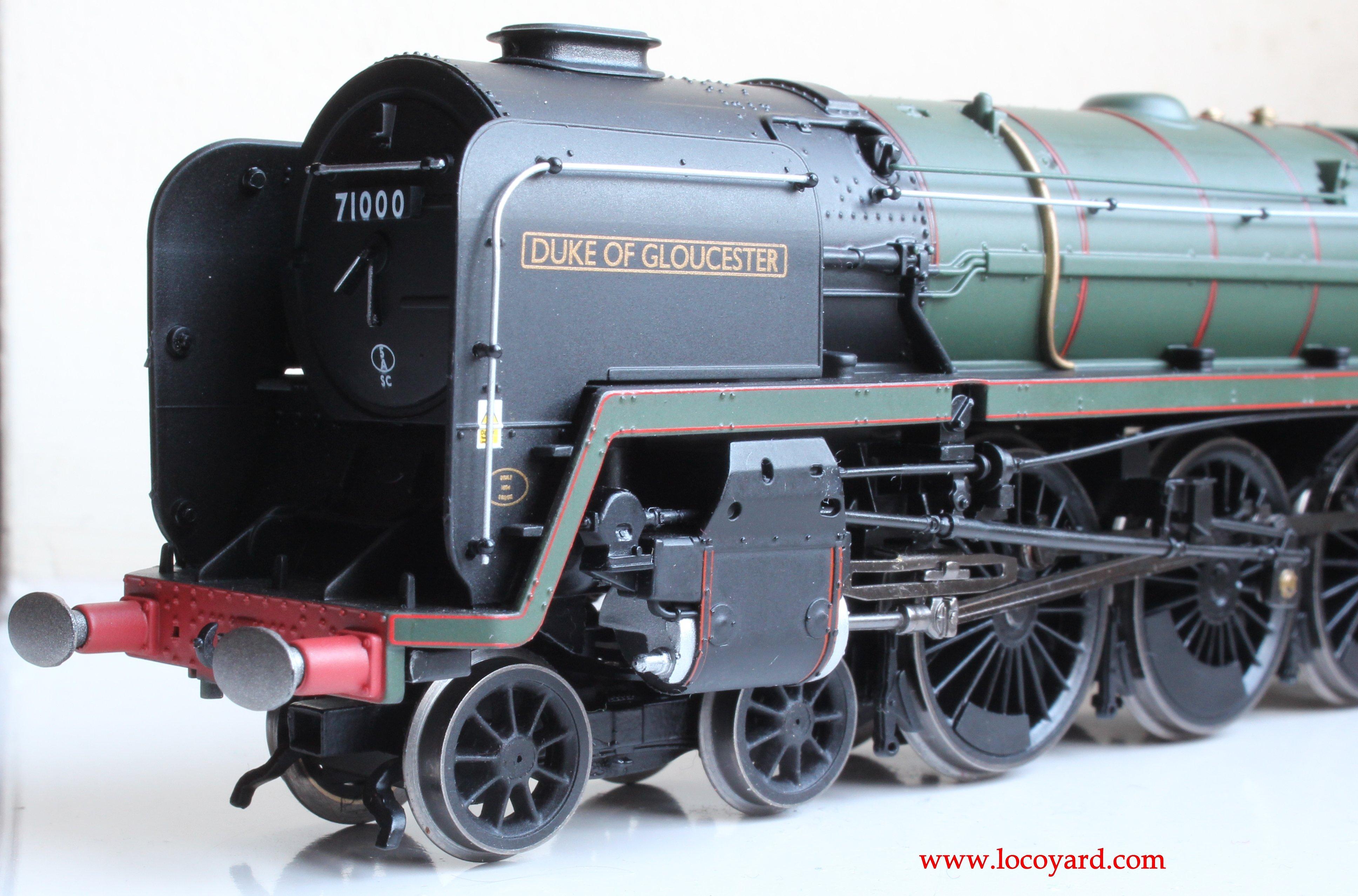 Hornby Br Standard 8p 71000 Duke Of Gloucester Review