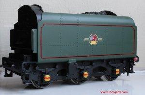 Locoyard Review - Hornby BR Standard 8P class - 71000 Duke of Gloucester (BR1E Tender)