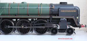 Locoyard Review - Hornby BR Standard 8P class - 71000 Duke of Gloucester (profile & Caprotti valve gear)