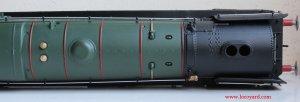 Locoyard Review - Hornby BR Standard 8P class - 71000 Duke of Gloucester (top of boiler)