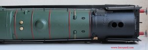 Locoyard Review - Hornby BR Standard 8P class - 71000 Duke of Gloucester (top of boiler)