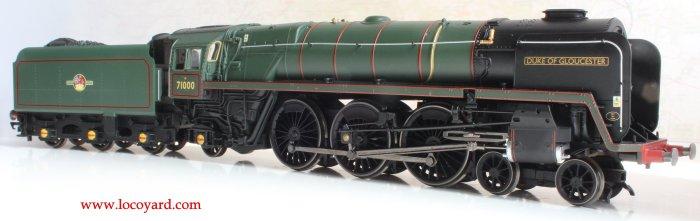 Locoyard Review - Hornby British Railways Standard 8P class - 71000 Duke of Gloucester