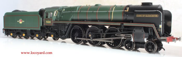 Locoyard Review - Hornby British Railways Standard 8P class - 71000 Duke of Gloucester