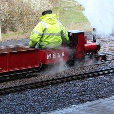2014 - Eastleigh Lakeside Steam Railway - Spring Steam Gala - Romulus 0-4-0 Idris