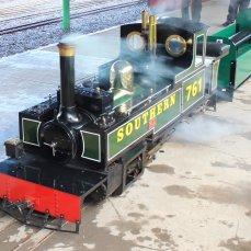 2014 - Eastleigh Lakeside Steam Railway - Spring Steam Gala - L&BR 2-6-2T No. 761 'Taw'