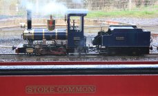 2014 - Eastleigh Lakeside Steam Railway - Spring Steam Gala - Romulus 0-4-0 'Sanjo'