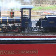 2014 - Eastleigh Lakeside Steam Railway - Spring Steam Gala - Romulus 0-4-0 'Sanjo'