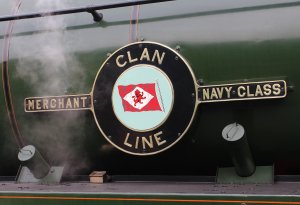 2014 - Watercress Line - Spring Steam Gala - Ropley - Merchant Navy Class - 35028 Clan Line