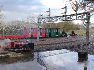 2014 - Eastleigh Lakeside Steam Railway - Spring Steam Gala - 6110 Royal Scot, 4789 William Baker & 3 Francis Henry Lloyd