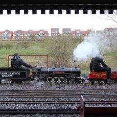 2014 - Eastleigh Lakeside Steam Railway - Spring Steam Gala - ELR Atlantic 4-4-2 No. 4789 William Baker 4-8-4 No. 3 Francis Henry Lloyd