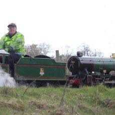 2014 - Eastleigh Lakeside Steam Railway - Spring Steam Gala - SBCR Bullock Class 4-6-2 No. 2005 Silver Jubilee & No. 2006 Edward VIII