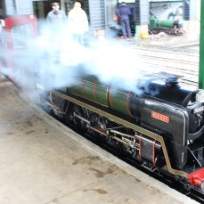 2014 - Eastleigh Lakeside Steam Railway - Spring Steam Gala - BR Britannia 4-6-2 No. 70055 'Rob Roy'