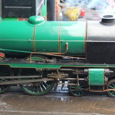 2014 - Eastleigh Lakeside Steam Railway - Spring Steam Gala - 850 Lord Nelson