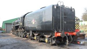 2014 - Watercress Line - Spring Steam Gala - Ropley - BR Standard 9F Class 92212