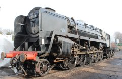 2014 - Watercress Line - Spring Steam Gala - Ropley - BR Standard 9F Class 92212