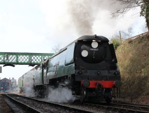 2014 - Watercress Line - Spring Steam Gala - Ropley - unrebuilt West Country Class - 34007 Wadebridge
