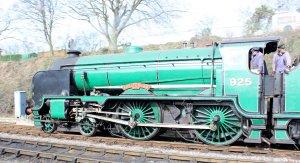 2014 - Watercress Line - Spring Steam Gala - Ropley - schools class 925 Cheltenha